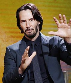 Keanu Reeves appears on NBC News 'Today' show Keanu Reeves Images, Keanu Reeves Movies, Keanu Reeves Quotes, Keanu Reeves John Wick, Keanu Charles Reeves, John Rick, Blockbuster Film, Adore U, Book Signing