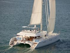 A brand new catamaran; wind swept beaches, a crew born for the sea - this is TIGER LILY in the Exumas