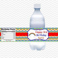 0081574a06fd 26 Best Water Bottle Labels images in 2017 | Waterproof labels ...