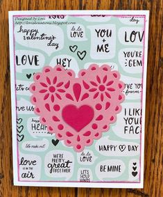 Lori's Kreations: Scrapy Land Challenge #130 Happy Love, Happy Day, Romance And Love, Pink Paper, Gift Certificates, Distress Ink, I Card, Card Stock, Hot Pink