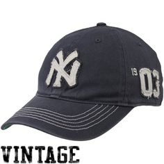 '47 Brand New York Yankees Cooperstown Collection Badger Closer Flex Hat - Navy Blue