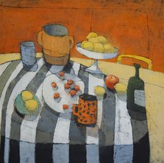 """Paul Balmer, USA Manhatttan, oil on canvas Still life, oil on canvas Landscape, oil and pastel on paper"" Painting Still Life, Still Life Art, Art And Illustration, Art For Art Sake, Beautiful Paintings, Love Art, Online Art, Art Images, New Art"