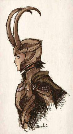 My favorite picture of Loki so far~
