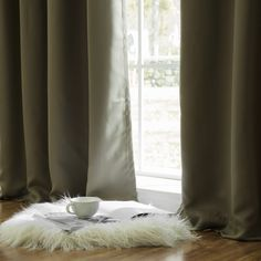 Sweetwater Blackout Solid Thermal Curtain Panels & Reviews | Birch Lane Double Curtains, Drapes Curtains, Curtain Panels, French Doors Patio, Patio Doors, Emerald Green Curtains, Traditional Curtains, Classic Curtains, Mink Colour