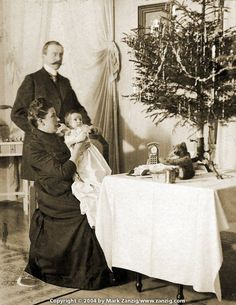 Image result for christmas 1910 authentic decorations porch