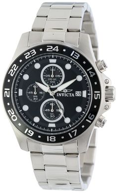 online shopping for Invicta Men's 15204 Pro Diver Chronograph Black Dial Stainless Steel Watch from top store. See new offer for Invicta Men's 15204 Pro Diver Chronograph Black Dial Stainless Steel Watch Amazing Watches, Cool Watches, Rolex Watches, Watches For Men, Authentic Watches, Fitness Watch, Gentleman Style, Watches Online, Stainless Steel Watch
