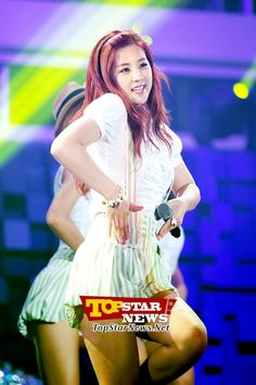A Pink Cho Rong's lovely smile…JTBC Special Environmental water supply with Suwon Concert [KPOP]