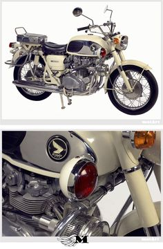 The 1965 Honda 450 Police Special was brought to The United States in limited quantities, twenty-five units to be exact.