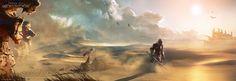 DA:I - Desert by MattRhodesArt on DeviantArt