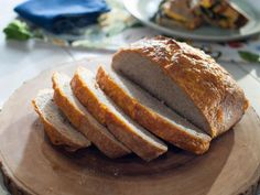 Get No-Knead Cheddar Bread Recipe from Food Network from Trisha Yearwood Tricia Yearwood Recipes, Trisha Yearwood, Food Network Recipes, Cooking Recipes, Bread Recipes, Cat Recipes, Oven Recipes, Sauce Recipes, Drink Recipes