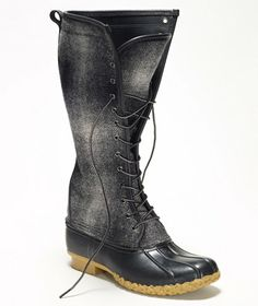 """L.L.Bean Signature 16"""" Wool Bean Boot - Made in Maine $199. Free Shipping at L.L.Bean"""