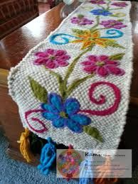 Imagen relacionada Crochet Accessories, Needle And Thread, Hand Embroidery, Projects To Try, Weaving, Textiles, Blanket, Knitting, Crafts