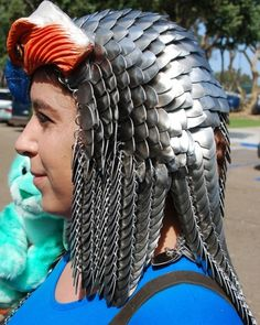 Close-up on Sorceress Headdress - Scales - Gallery - TheRingLord