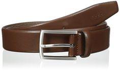 HUGO Hugo Boss Men's C-Barney Belt, Medium Brown, 85 *** More info could be found at the image url.