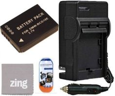 Panasonic Lumix Digital Camera Battery and AC/DC Battery Charger Kit Includes DMW-BCG10E Battery , Battery Charger , LCD Screen Protectors , Micro Fiber Cleaning Cloth by Panasonic. $19.99. Bring your digital camera back to life with a new battery. Make sure you never miss another once-in-a-lifetime moment by having a new DMW-BCG10 DMW-BMB9 battery specifically designed for your Panasonic Lumix DMCZS15 DMCZS19 DMCZS20 digital camera. BM Premium rechargeable batteries are engi...