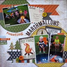 Layout: Roasting Marshmallows