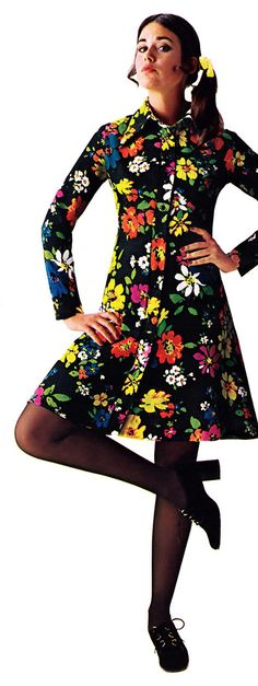 Colleen Corby (Sears Catalog - 1972)   I had a dress like this, and I'm sure I had those shoes.