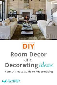When looking to redecorate your home, thoughtful and practical changes in any space make a world of difference. In true DIY style, all of these updates can be done yourself, today. From choosing an overall theme, color scheme, and creating focal points to planning out a step-by-step redecoration process, create the space you've wished for and dreamed of with Joybird. There's no time like the present!