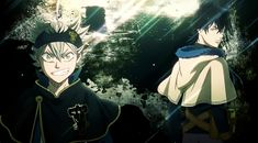 Is Black Clover as bad as everyone says? Is it just another generic Shonen anime? Watch Black Clover, Black Clover Manga, Hd Anime Wallpapers, Wallpaper Backgrounds, Mobile Wallpaper, Black Clover Wallpaper, Manga Anime, Anime Art, Anime Boys