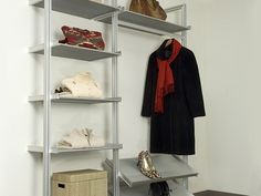 10 Easy Pieces: Modular Closet Systems, High to Low - Remodelista Modular Closet Systems, Modular Wardrobes, Wardrobe Storage, Closet Storage, Home Design Decor, Interior Design, Design Ideas, Interior Ideas, Beautiful Closets