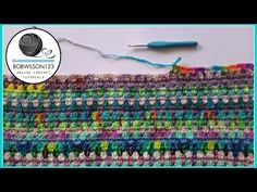 Crocodile Stitch Shawl Crochet Tutorial - How to start - YouTube