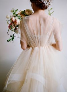 The Carlee Gown by Chaviano Couture a poetic wedding dress
