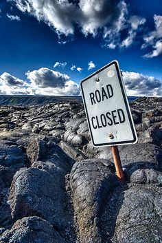 Road Closed (indefinitely) by Roger Nichol on Flickr.