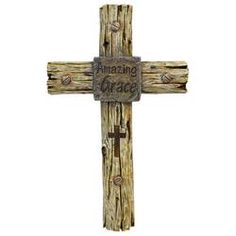 Loon Peak® Faux Wood Driftwood Divine Trinity Wall Cross Plus Accent Christian Catholic Faith Family Symbol Wall Décor & Reviews | Wayfair