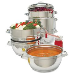 Final Sale: Back-To-Basics Nutri Steamer Juicer Cooker! (New Open Box) for $59.99 on 1Sale.com Smart Kitchen, Kitchen Gadgets, Kitchen Appliances, Best Juicer, Steamer, Kitchen Aid Mixer, Final Sale, Kitchen Dining, Modern