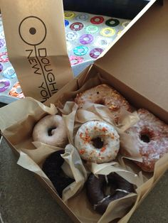 Doughnut Plant in NYC - Tres Leches are the best!