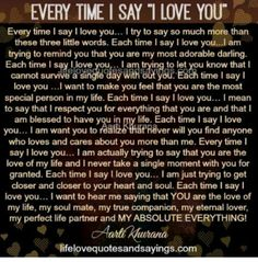 Every time I say I love you… I try to say so much more than these three little words. Each time I say I love you…I am trying to remind you that you are my most adorable darling. Each time I say I love you… I am trying to let you know that I cannot. Beautiful Poems For Her, Love You Poems, Love Quotes For Him Deep, Love Poem For Her, Sweet Romantic Quotes, I Love You Images, Sweet Love Quotes, Beautiful Love Quotes, Awesome Quotes