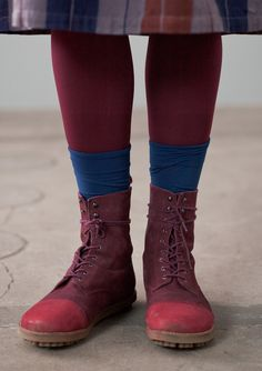 Nubuck boots from Gudrun Sjoden - green or grey!