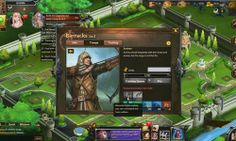 Blood Crown Vampires vs Werewolves is a Browser Based BB Free to Play empire Builder MMO Game