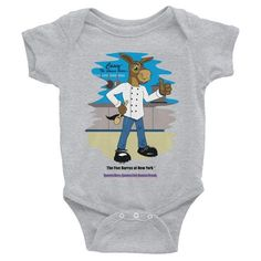 Casey™ The Queens Burro©-New York Born-Infant Bodysuit - The Five Burros of New York