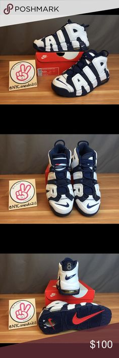 d6e811442 BRAND NEW NIKE AIR MORE UPTEMPO - NAVY Never been worn or tried on. The