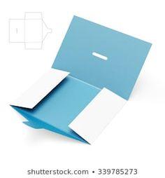 Portfolio obrazów i zdjęć stockowych autorstwa Digital Assets Scarf Packaging, Packaging Design, Envelope Template Printable, Diy Paper, Paper Crafts, Custom Folders, Newsletter Layout, Gift Wraping, Envelopes
