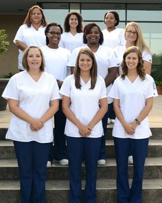 Nash Community College recently held a pinning ceremony to recognize eleven graduates from the medical assisting diploma program. Each individual completed the academic and clinical work required to become Medical Assistants as determined by the American Association of Medical Assistants (AAMA). Rocky Mount, NC
