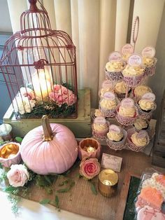 14 & Hudson /Paula Clemente Woods's Birthday / Pink & Gold Pumpkin - Photo Gallery at Catch My Party Fall 1st Birthdays, Pumpkin 1st Birthdays, Pumpkin Birthday Parties, Pumpkin First Birthday, 1st Birthday Party For Girls, 21st Birthday Ideas For Girls Turning 21, 16th Birthday, Pink Pumpkin Party, Baby In Pumpkin