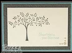 stampin up sympathy ideas
