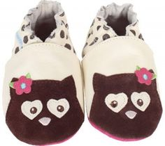 Robeez Soft Soles Owl 3D - New for spring 2013!