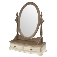 Found it at Wayfair.co.uk - Limena Round Dressing Table Mirror