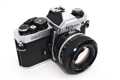 My New Equipment │Nikon FM2 + Nikon AiS Nikkor 50mm F1.4 by *Yueh-Hua 2013, via Flickr  Another good camera I owned, it would allow you to use faster shutter speeds (1/250 sec.) than most to sync a flash for a fill light outdoors. Buck