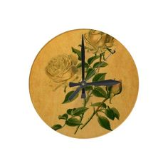 Roses are Golden #clocks @firstmightart