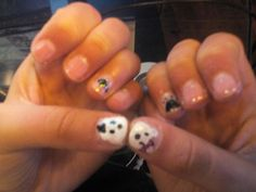 Polar bear nails