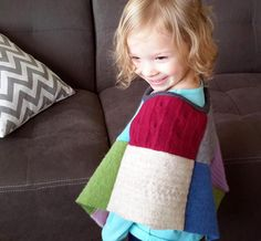 Looking for your next project? You're going to love Patchwork Pancho by designer J Howell.