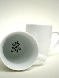 You are going to be Grandma Cup! (Du wirst OMA ♥ TASSE von hochdietassen auf DaWanda.com)