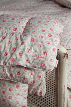 CATH KIDSTON PROVENCE ROSE GREY BEDSPREAD