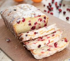 Cooking Pinterest: Orange-Cranberry Yogurt Loaf Recipe