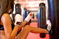 Kickboxing.. want to try it so bad! I need a workout buddy!