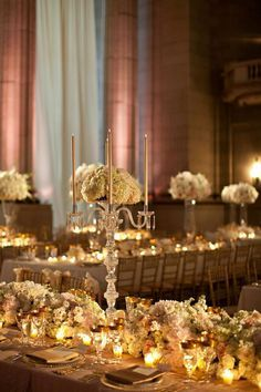 This Washington DC wedding from A. Dominick Events is perfection.  The magnificent centerpieces from Amaryllis Designs add an air of sophistication to the glamorous ballroom of the Andrew W. Mellon Auditorium. The bride's gown is stunning and reminiscent of a royal wedding.  Get ready to be amazed with this beautiful photography by Patricia Lyons. Wedding Planner: A. Dominick Events | Flowers / […]